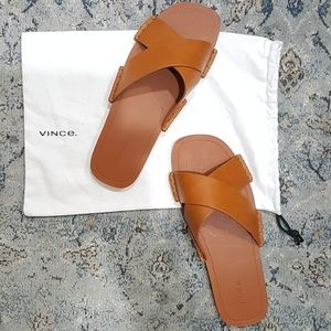 Vince Nico Leather Sandals